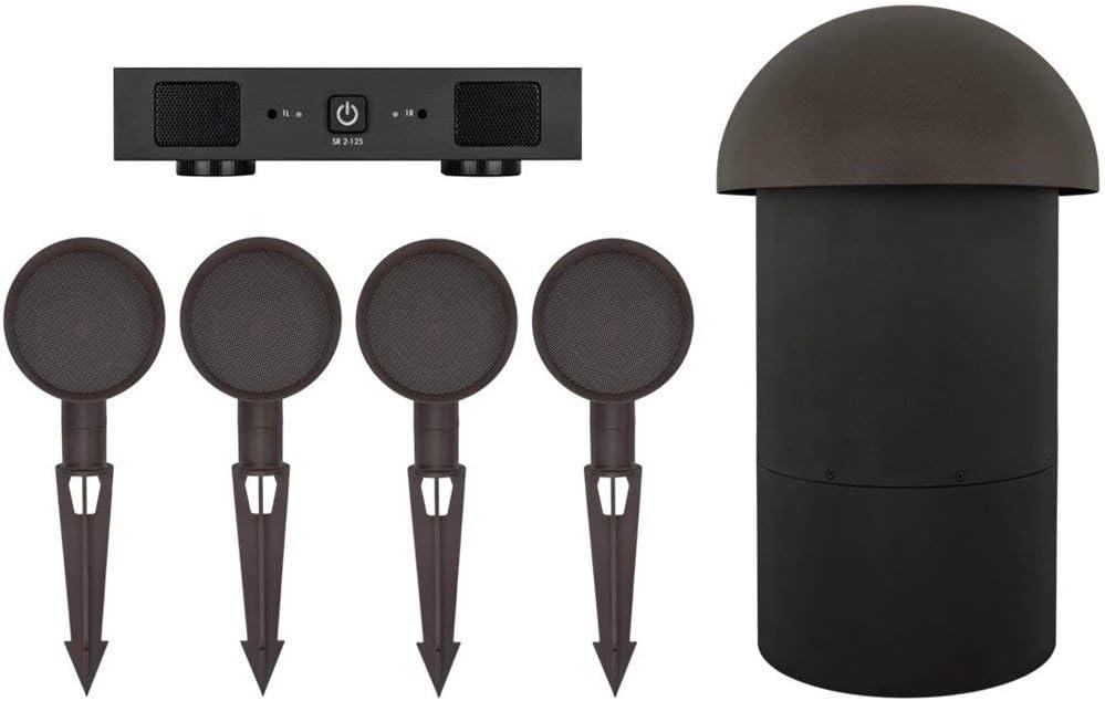 Sonance Patio Series 4.1 Speaker System Brown PATIO4.1