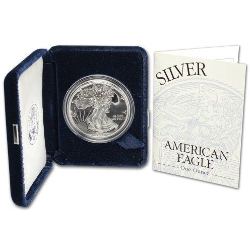 1994 P American Silver Eagle Proof $1 OGP U.S. Mint ()
