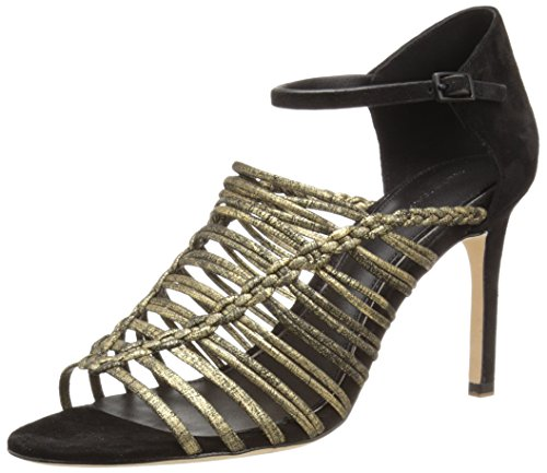 Black Imperial Sandal Women's Dress EL Elie Tahari YwBqxvB8z