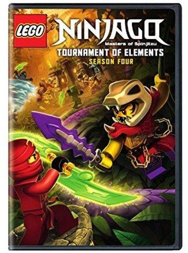 LEGO Ninjago: Masters of Spinjitzu: Rebooted Season 4 (DVD)