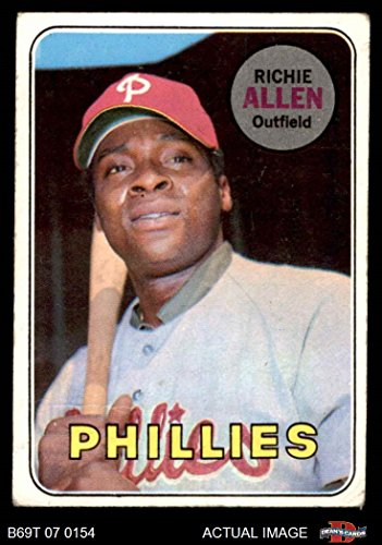 1969 Topps Card (1969 Topps # 350 Rich Allen Philadelphia Phillies (Baseball Card) Dean's Cards 2 - GOOD Phillies)