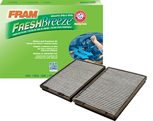 FRAM CF10369 Fresh Breeze Cabin Air Filter with Arm & ()