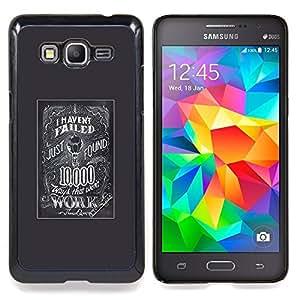 /Skull Market/ - Idea Scientist Entrepreneur Business Try For Samsung Galaxy Grand Prime G530H G5308 - Mano cubierta de la caja pintada de encargo de lujo -