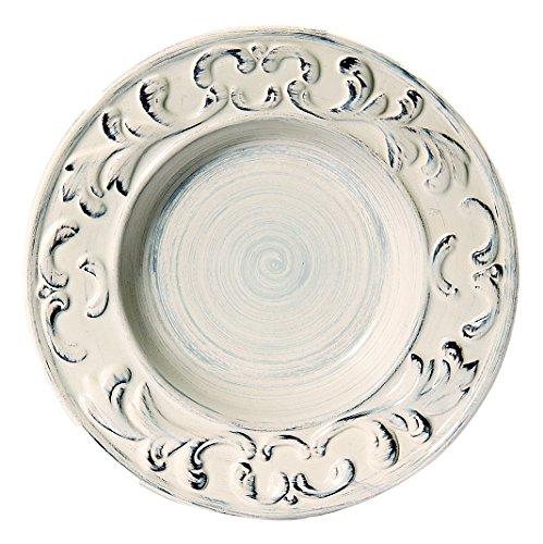 Intrada BAR7432C-4 Baroque Soup Plate, 10