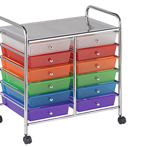 Colorful Mobile Organizer - 12 Drawers by MegaDeal
