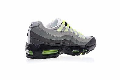 quality design 9fd8b 5c78c Chaussures de Running Max 95 Chaussures de Basket Chaussures de Gymnastique  Homme Femme Gris Vert