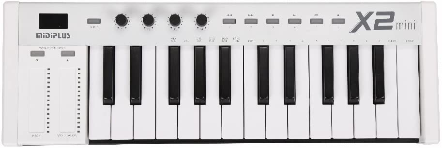 MIDIPLUS X2 mini - Mini controlador teclado 3, Blanco