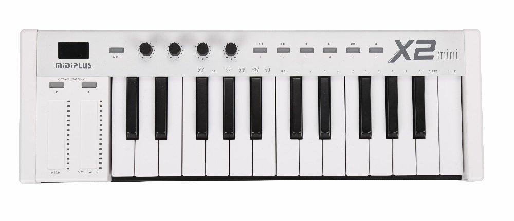 midiplus MIDI Keyboard Controller, X2 mini)