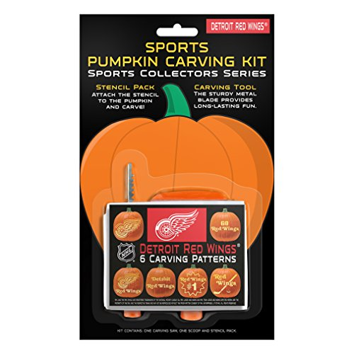 NHL Detroit Red Wings Pumpkin Carving Kit ()