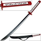 Akame Ga Kill Anime Saber Katana Poison Strike Teigu Murasama with Leather Sheath