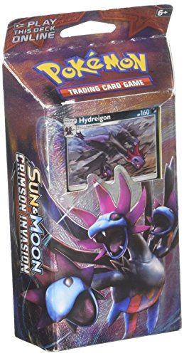 Pokemon TCG: Sun & Moon Crimson Tide Theme Decks |Includes BOTH Hydreigon & Kommo-o Exclusive Cracked Ice Holofoils |Includes 2 Ready-to-Play Decks Plus Coins, Damage Counters, Playmats & Deck Cases