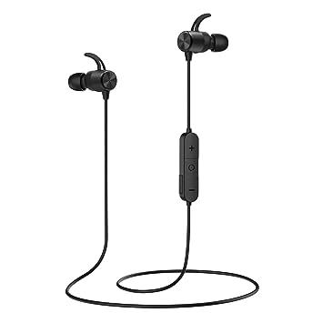 MoKo Magnético Auriculares Deportivos Bluetooth, APT-X HiFi ...