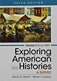 img - for Exploring American Histories, Volume 2 2e & LaunchPad For Exploring American Histories, 2e (6 Month Access) book / textbook / text book