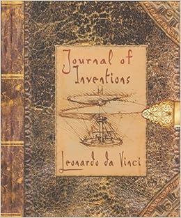 by jaspre bark journal of inventions leonardo da vinci pop 2 13 09