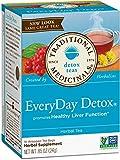 Traditional Medicinals Organic Lemon Everyday DetoxTea, 16 bags (Detox Tea, Pack of 2) For Sale