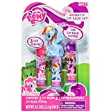 My Little Pony: 3 ct Lip Balms with 1 ct Interchangeable Lip Balm Topper (Pinkie Pie, Rainbow Dash and Twilight Sparkle)