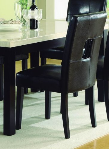 Chelsea Lane Keyhole Dining Side Chair   Set Of 2