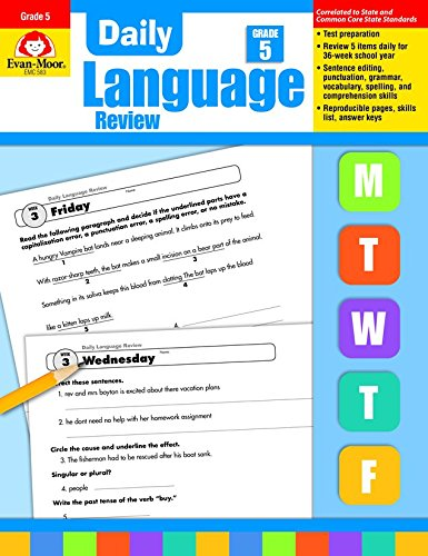 Daily Language Review, Grade 5 Common Core Edition (Evan Moor Daily Language Review)