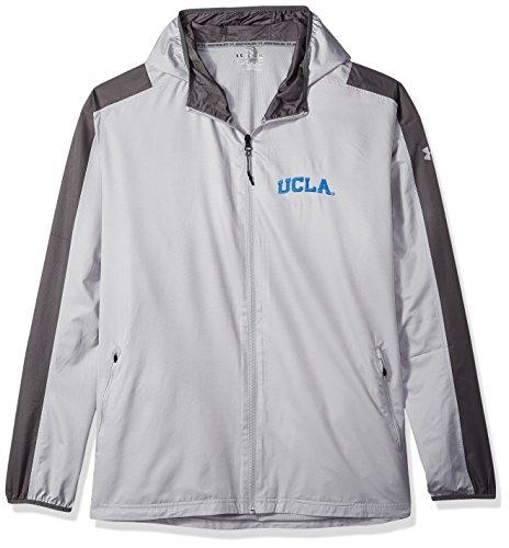 Under Armour NCAA UCLA Bruins Mens NCAA Men's Lightweight Windbreaker, X-Large, Overcast (Ucla Light)