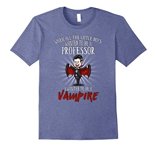 Mens Halloween Party Vampire Costume for Professor 2XL Heather Blue