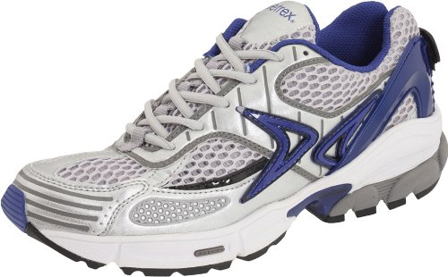 Aetrex Men's HP Runner,Silver/Blue,8.5 M US