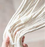 Cuttte Macrame Plant Hangers with 10 Hooks, 3