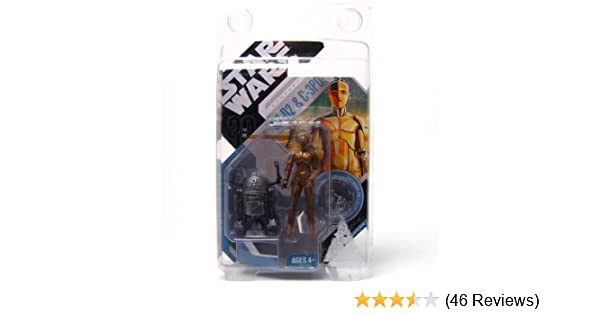 Star Wars 30TH San Diego comic-con Celebration Exclusive C-3PO /& R2-D2 McQuarrie coin