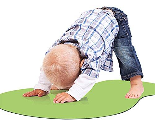 Woombie YOGA TOT Yoga Mats, Green, 0-4 Years