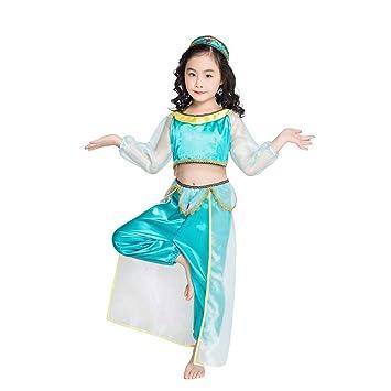 Amazon.com: YIBEN Disfraz de Halloween, arábigo de jazmín ...