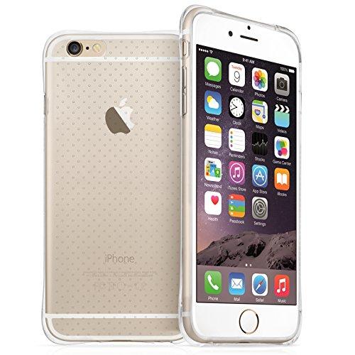 Yousave Accessories Coque Pour iPhone 6 Plus Transparent Avec Absorbtion De Choc - [Protecteur D'ecran Et Tissu De Polissage Inclus]