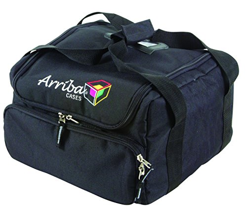 Case Cases Arriba (Arriba Cases AC-130 Padded Gear Transport Bag | 13x13x9.5 Inches)