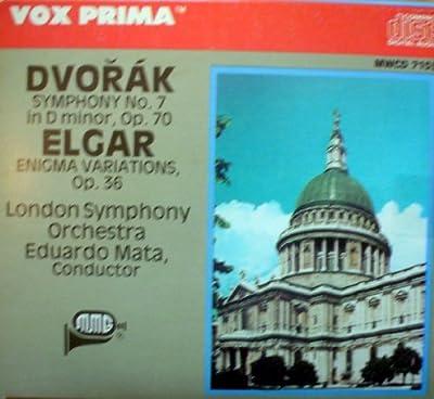 Vox Prima: Dvorak Symphony No. 7 in D minor, Op.70; Elgar Enigma Variations Op.36