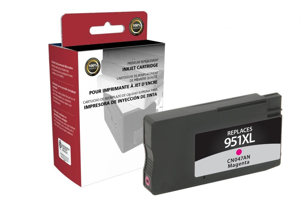 Amazon.com: CIG Remanufactured High Yield Magenta Ink ...