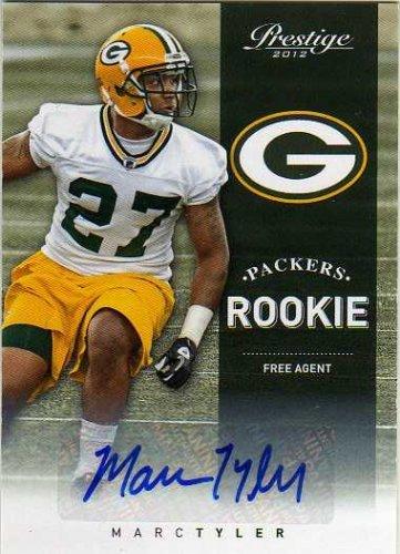 2012 Prestige Rookie Autographs #261 Marc Tyler Autograph Card Serial (2012 Prestige Autograph)