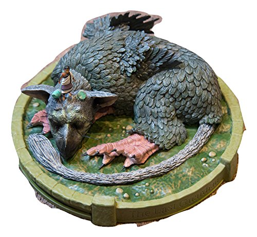 Edition Statue - The Last Guardian Limited Collector's Edition Sleeping Trico & Boy Diorama Statue