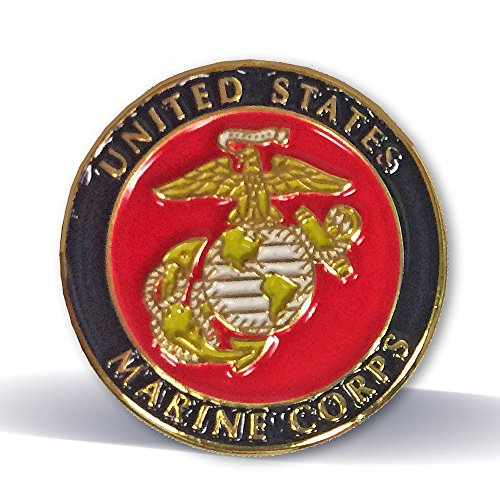 (United States Marine Corps Pin - Pack of 12)