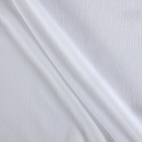 Island Breeze Gauze White Fabric By The Yard (White Gauze)
