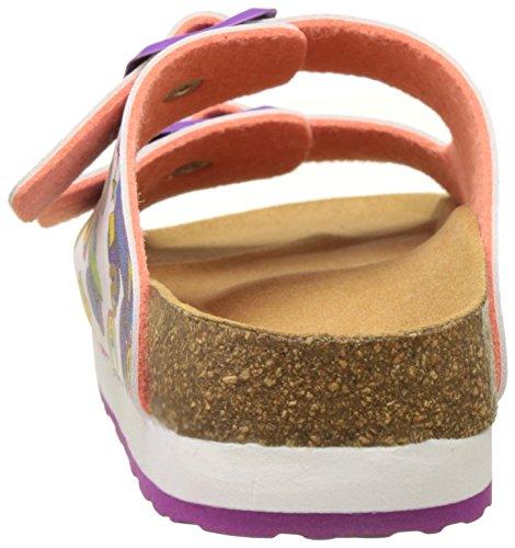 Desigual Bio 6 Ro, Heels Sandals para Niñas Rosa (pink 3200)