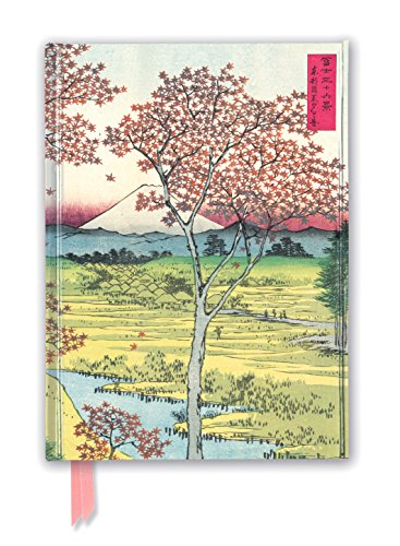 (Hiroshige: Twilight Hill (Foiled Journal) (Flame Tree Notebooks))