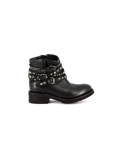0dfef806da8 ASH - Botas de Cuero para Mujer * Negro Size: 41 EU: MainApps: Amazon.es:  Zapatos y complementos