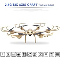 X-Series 2.4GHz 4 Channels 3D Roll 6 Axis Gyro Wireless Real-time HD Video FPV Camera  WiFi FPV Quadcopter RC Hexacopter from Etuoji
