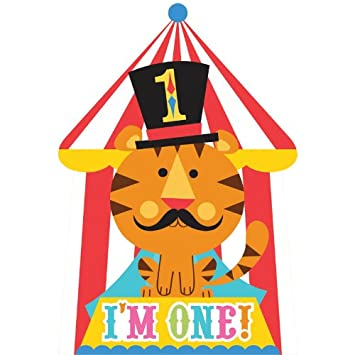 Amazoncom Fisher Price Circus 1st Birthday Invitations 8