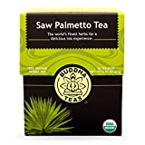 Buddha Teas Saw Palmetto Tea, 18 Count (Pack of 6) For Sale