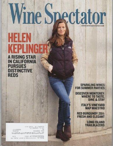 Download Wine Spectator 2014 June 15 - Helen Keplinger. A Rising Star in California Pursues Dustictive Reds pdf