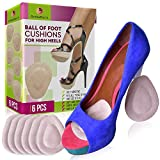 OrthoDoc's High Heel Cushion Inserts - Metatarsal Pads for Women & Men - Mortons Neuroma Pads for Women & Men - Shoe Pads for Heels - Ball of Foot Cushions for High Heels - Insoles for High Heels