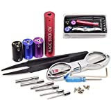 RAYEE Wire Coiling Tool Coil Jig Kit Vape Tool Kit (5-in-1 Coil Kit)