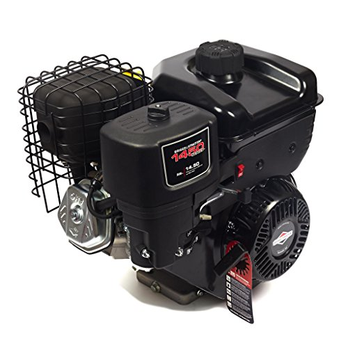 Briggs & Stratton 1450 Series Horizontal OHV Engine - 306cc, 1in. x 2.765in. Shaft, Model# 19N132-0055-F1 by Briggs & Stratton