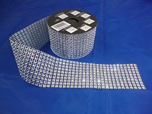 2 Metre x 4.5cm Diamante Decorative Ribbon - Arts + Crafts - Home Decor by Christmas Shop