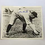 Joe Sewell Signed Autographed Photo Baseball HOF New York Yankees Auto