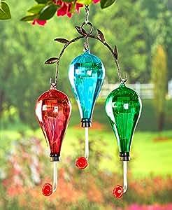 La colección de la laguna Triple colibrí alimentador